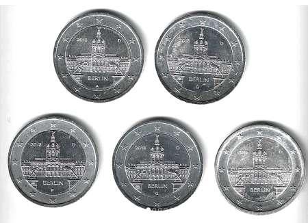 Photo ads/1386000/1386256/a1386256.png : 2 EUROS COMMEMORATIVES PLAQUEES ARGENT TOUS PAYS