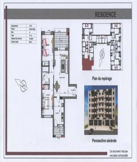 Photo ads/1449000/1449861/a1449861.jpg : Appartement Cite Afh Mrezgua 3m289