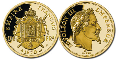 Photo ads/607000/607220/a607220.jpg : PIECE FRAPPE « Napoléon III Empereur »