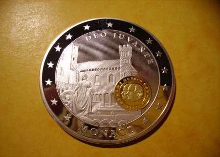 Photo ads/607000/607229/a607229.jpg : PIECE FRAPPE « Monaco » 10 ans de l'Euro