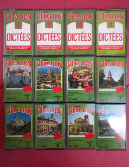 Photo ads/843000/843355/a843355.jpg : « JE  PARLE  ITALIEN » COURS  DE  LANGUE