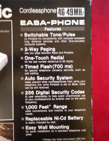 Photo ads/845000/845587/a845587.jpg : TELEPHONE « Panasonic »